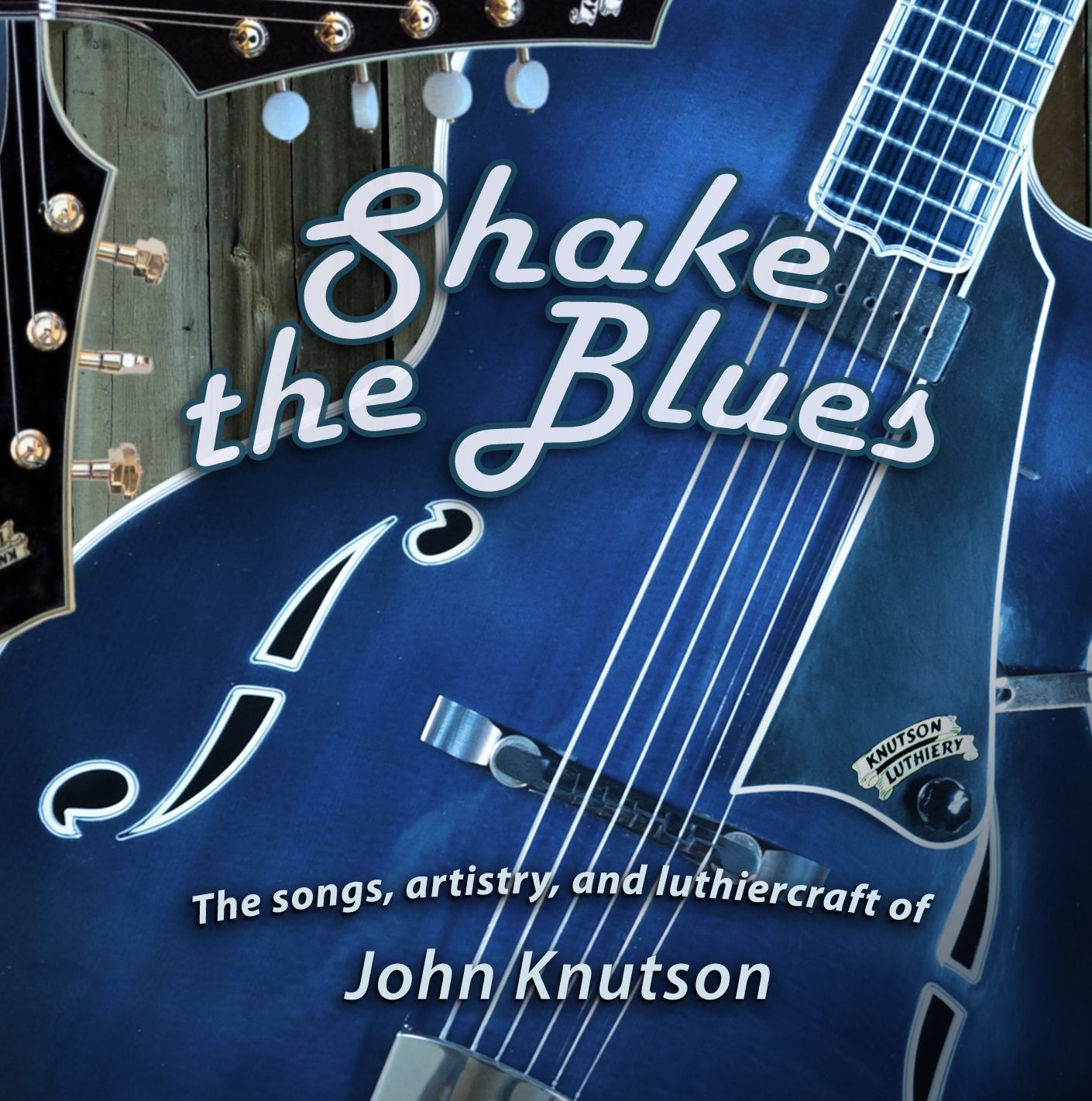 Shake the Blues CD Booklet